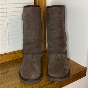 UGG Brown Classic Tall Boots 7